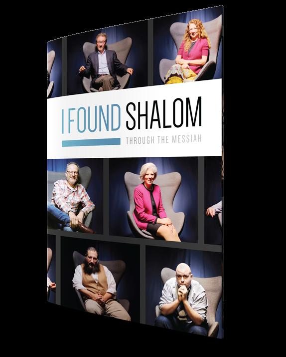 I Found Shalom Free Booklet