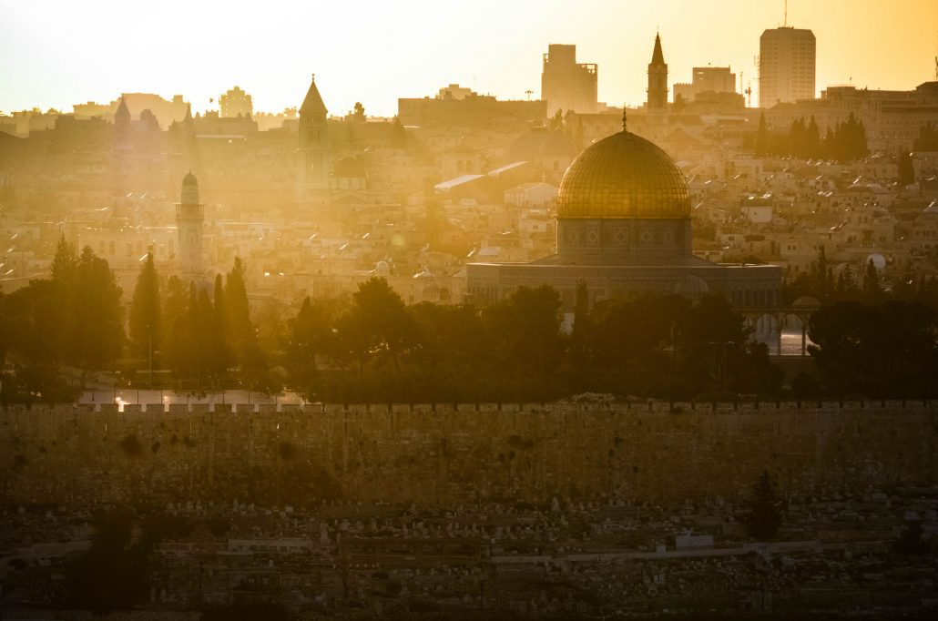 jerusalem at sunrise