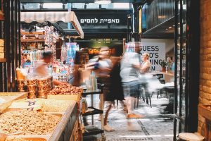 Sarona Market in Tel Aviv