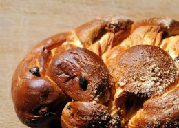 Challah Bread with Raisins Recipe
