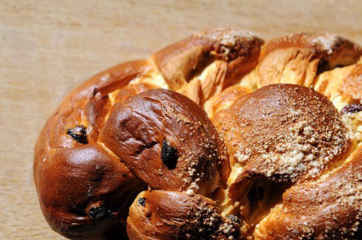 Challah Bread with Raisins Recipe