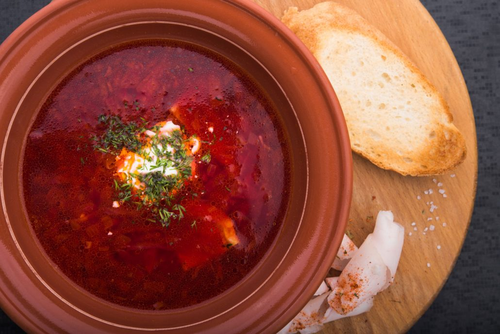 Nana's Sweet and Sour Cabbage Soup