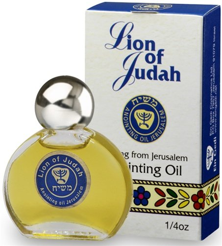 Ein Gedi Lion of Judah Anointing Oil